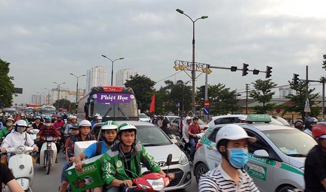 Hà Nội: Ùn tắc nghiêm trọng trên cao tốc Pháp Vân - Cầu Giẽ - 10