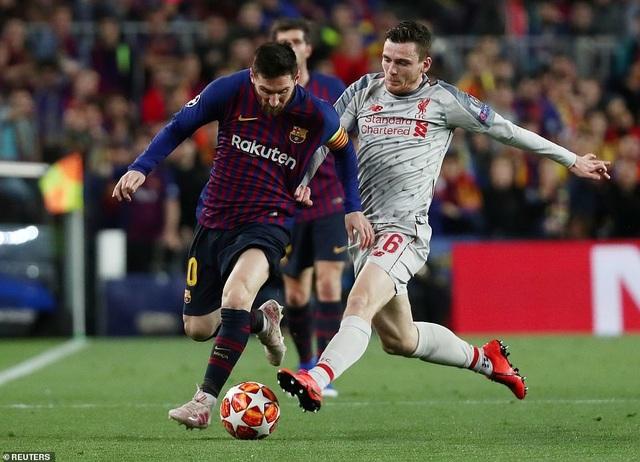 Những khoảnh khắc Messi nhấn chìm Liverpool tại Nou Camp - 19