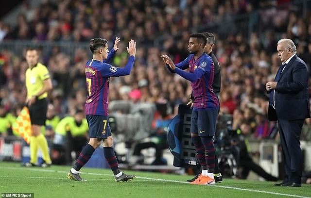 Những khoảnh khắc Messi nhấn chìm Liverpool tại Nou Camp - 17