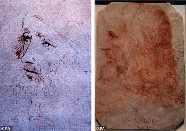 Tìm thấy bức chân dung thứ hai của danh họa Leonardo da Vinci - 1