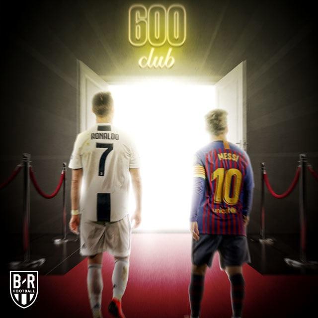 C.Ronaldo, Messi cán mốc 600 bàn thắng diễn ra như thế nào? - 1