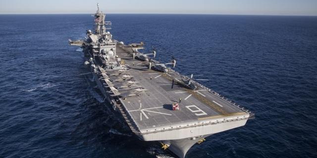 Mỹ đưa tàu tấn công đổ bộ mạnh nhất tới Thái Bình Dương  - 1