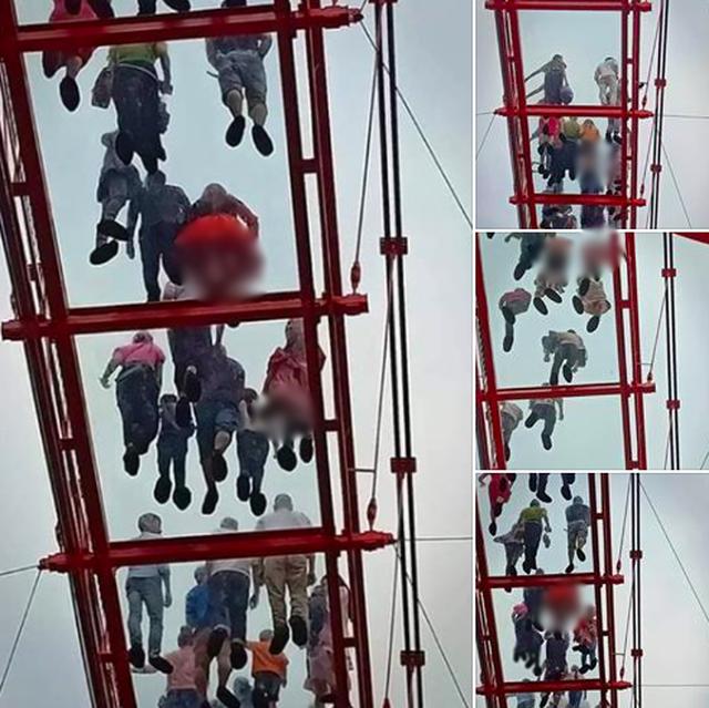 Du khách nữ lo sợ bị chụp lén trên cầu kính 5D đầu tiên ở Mộc Châu - 1