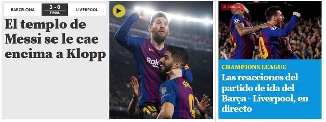 """Báo chí thế giới ngả mũ trước """"thiên tài"""" Lionel Messi - 3"""