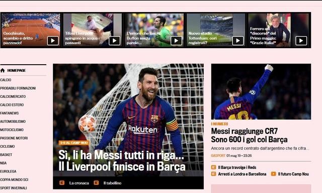 """Báo chí thế giới ngả mũ trước """"thiên tài"""" Lionel Messi - 7"""