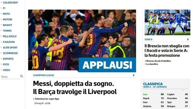 """Báo chí thế giới ngả mũ trước """"thiên tài"""" Lionel Messi - 9"""
