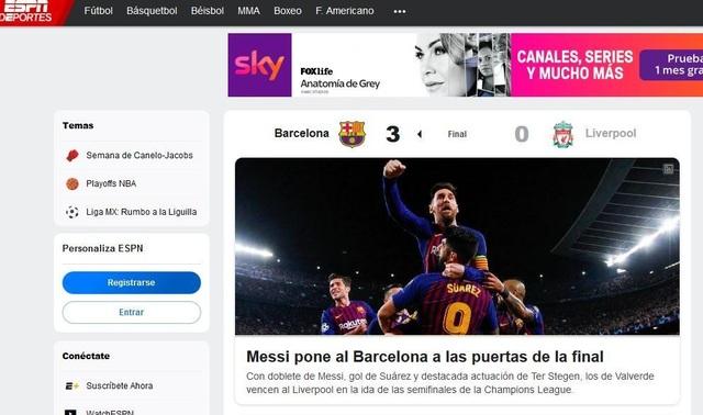 """Báo chí thế giới ngả mũ trước """"thiên tài"""" Lionel Messi - 10"""