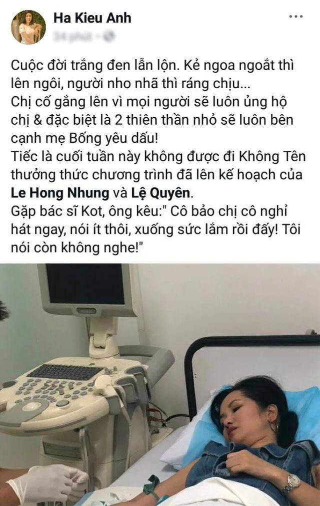 Tình bạn đáng ngưỡng mộ của diva Hồng Nhung và Hoa hậu Hà Kiều Anh - 10