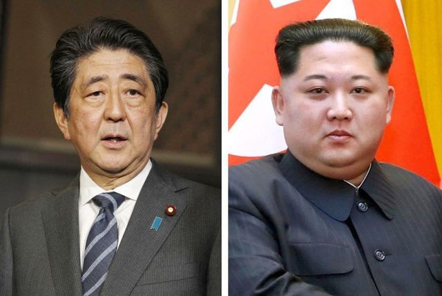 """Thủ tướng Nhật Bản sẵn sàng gặp Chủ tịch Triều Tiên Kim Jong-un """"vô điều kiện"""" - 1"""