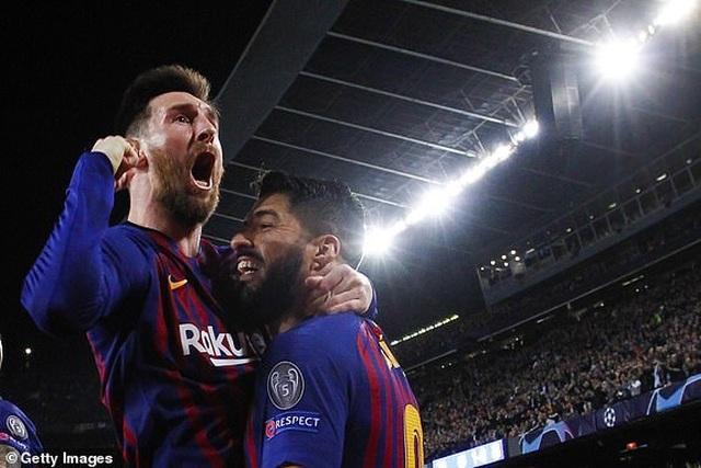Barcelona 3-0 Liverpool: Cú đúp của Messi - 1