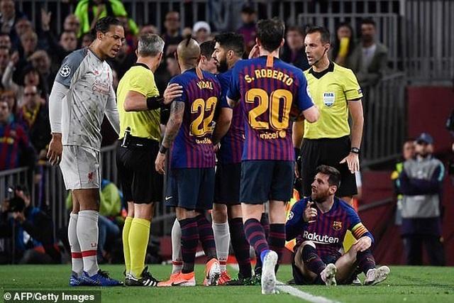 Barcelona 3-0 Liverpool: Cú đúp của Messi - 14