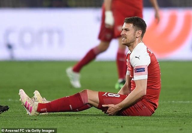 """Ramsey gửi tâm thư """"đầy nước mắt"""" chia tay người hâm mộ Arsenal - 1"""