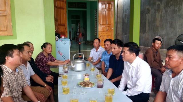 Sở GDĐT Nghệ An thăm hỏi, động viên gia đình 3 học sinh bị đuối nước - 1