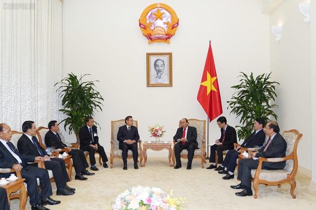 Thủ tướng tiếp đón lãnh đạo Campuchia, Lào sang dự Quốc tang nguyên Chủ tịch nước Lê Đức Anh - 2