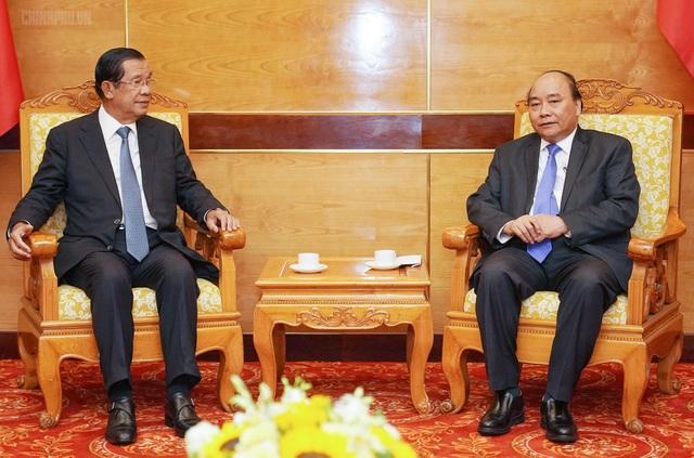 Thủ tướng tiếp đón lãnh đạo Campuchia, Lào sang dự Quốc tang nguyên Chủ tịch nước Lê Đức Anh - 1