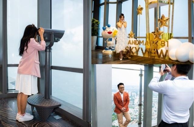 Choáng ngợp màn pháo hoa mãn nhãn từ toà tháp cao nhất Đông Nam Á. - 9
