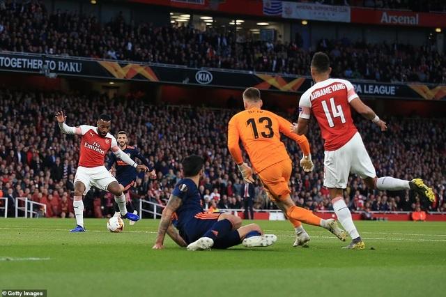 Arsenal 3-1 Valencia: Cú đúp của Lacazette - 5