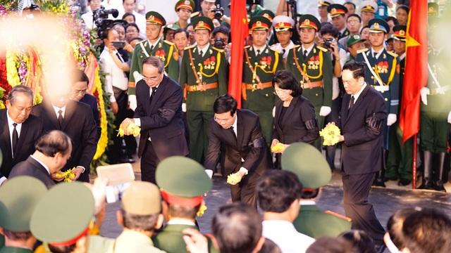 Lễ an táng Đại tướng, nguyên Chủ tịch nước Lê Đức Anh - 7