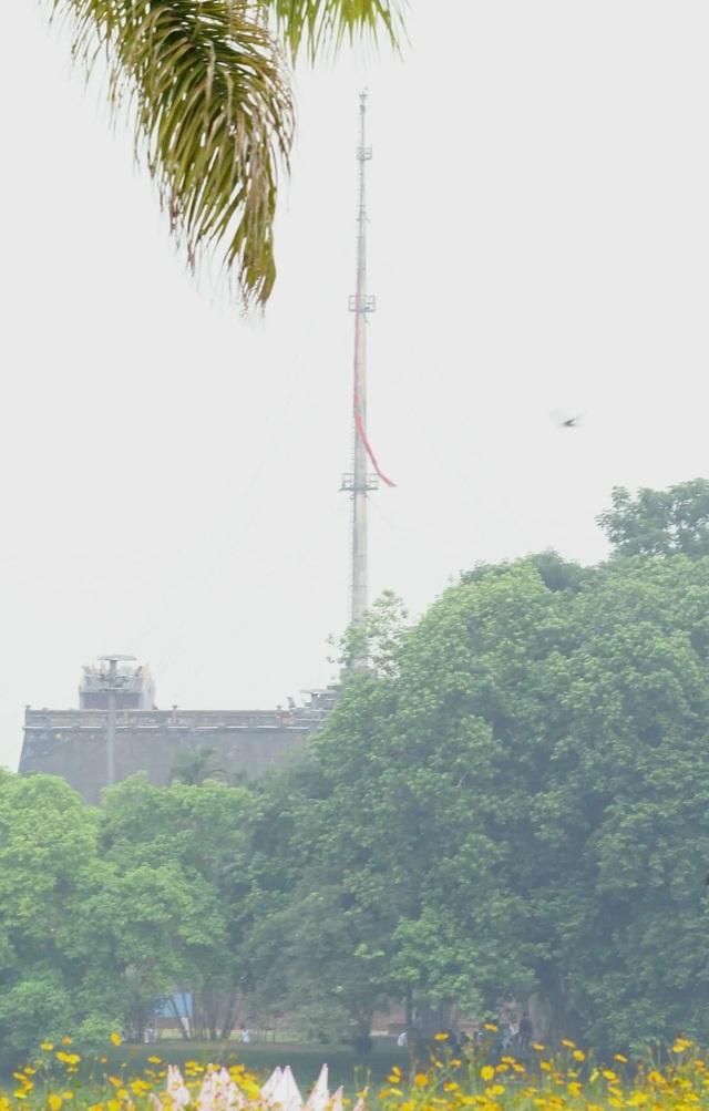 Nghi thức treo cờ rủ Lễ Quốc tang Đại tướng Lê Đức Anh - 13