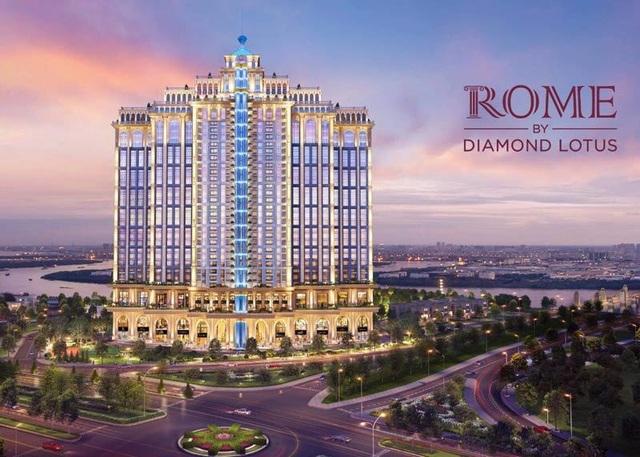 """Rome by Diamond Lotus: Kiến trúc và """"chất"""" La Mã uy nghiêm - 3"""