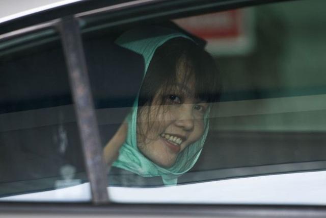 Hôm nay Đoàn Thị Hương được thả tự do - 1