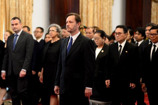 Đông đảo lãnh đạo, nhân dân miền Nam đến tiễn đưa nguyên Chủ tịch nước Lê Đức Anh - 6
