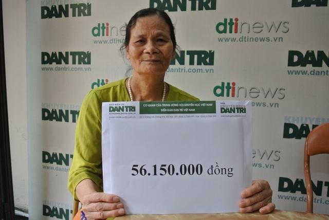 Cậu bé Dương bị ung thư vòm họng lần thứ 3 được bạn đọc Dân trí giúp hơn 56 triệu đồng - 2