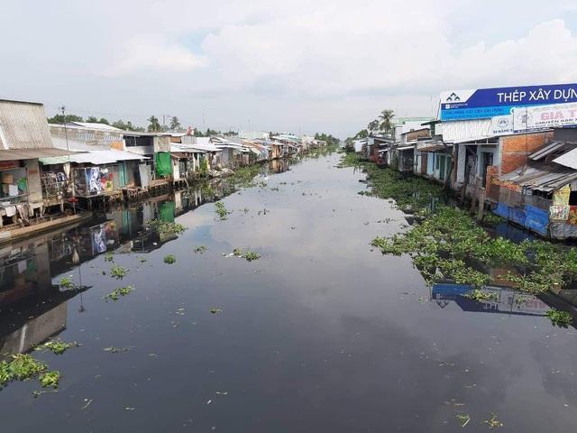 Nước sông đen ngòm, cá chết hàng loạt, dân khốn khổ vì mất nước sinh hoạt - 1