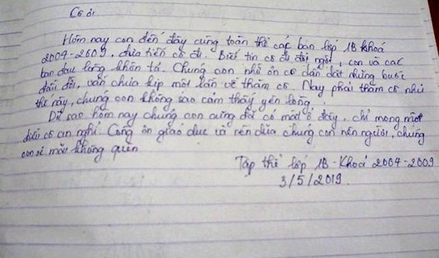 Vụ Mercedes tông cô giáo tử vong: Cô ra đi đột ngột, con và các bạn lòng đau khôn tả… - 3