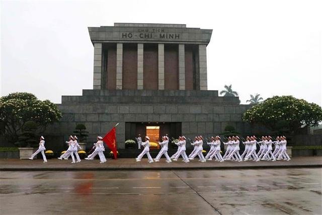 Nghi thức treo cờ rủ Lễ Quốc tang Đại tướng Lê Đức Anh - 7