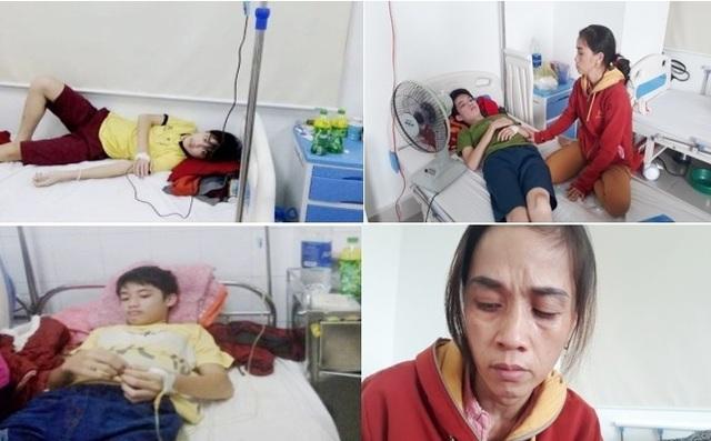 Xót xa cảnh vợ chồng phụ hồ có 3 đứa con mắc bệnh máu khó đông - 8