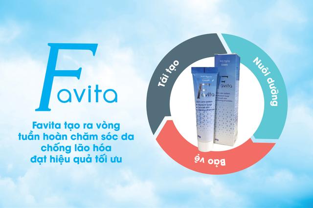 Sở hữu làn da tươi trẻ bằng sản phẩm siêu dưỡng FAVITA - 1