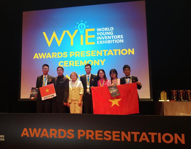 Học sinh Việt Nam đạt 2 Huy chương Vàng về sáng tạo trẻ thế giới  (WYIE) - 1