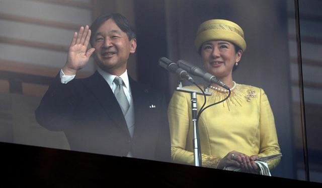 Tân Nhật hoàng lần đầu ra mắt người dân tại Cung điện Hoàng gia - 2