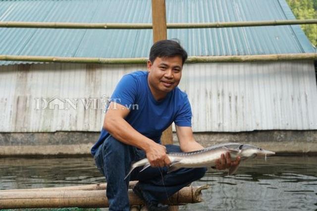 Trai Hà thành bỏ nghề giáo viên, bén duyên với cá...tên lửa - 1