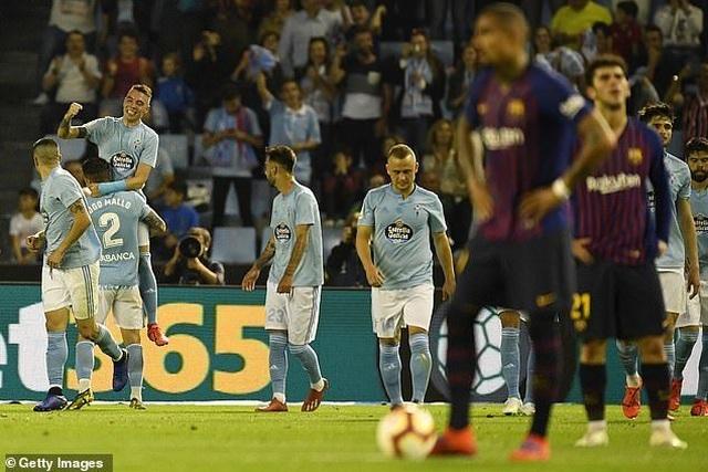 Vắng Messi và Suarez, Barcelona gục ngã trước Celta Vigo - 5