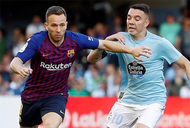 Vắng Messi và Suarez, Barcelona gục ngã trước Celta Vigo - 3