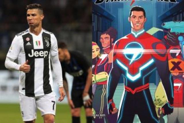 """C.Ronaldo bất ngờ hoá """"siêu anh hùng"""" để đấu với người ngoài hành tinh - 1"""