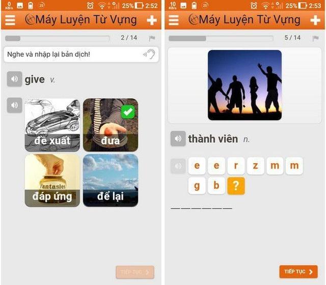 Những ứng dụng hữu ích giúp người dùng tự học tiếng Anh trên smartphone - 1