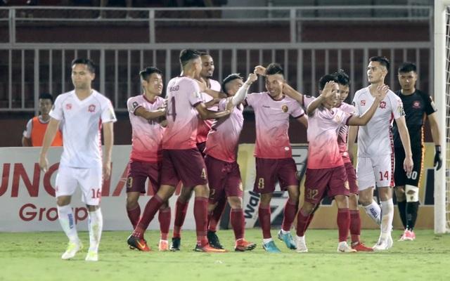 Sài Gòn FC đánh bại Hải Phòng trong trận cầu không pháo sáng - 4