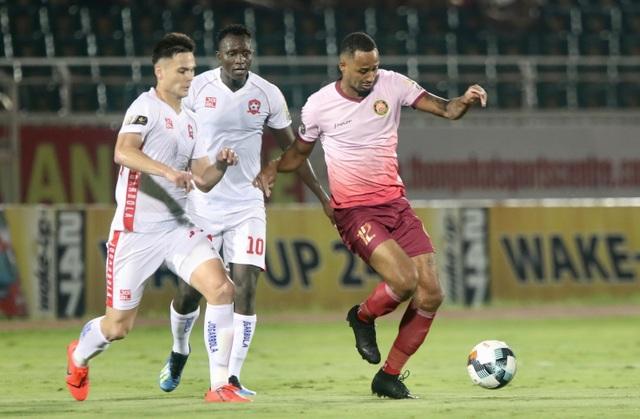 Sài Gòn FC đánh bại Hải Phòng trong trận cầu không pháo sáng - 1