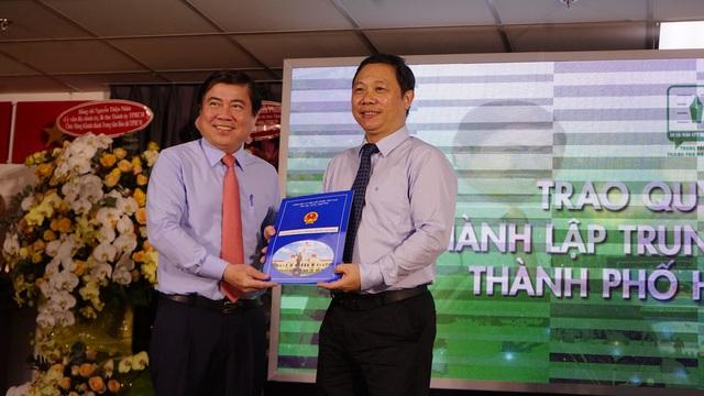 TPHCM khánh thành Trung tâm Báo chí đầu tiên của cả nước - 1