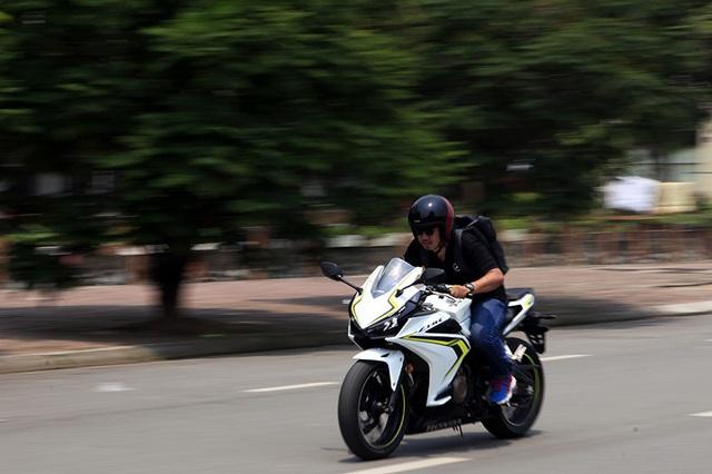 Honda CBR500R - Tự tin cho người nhập môn chơi Sportbike - 1