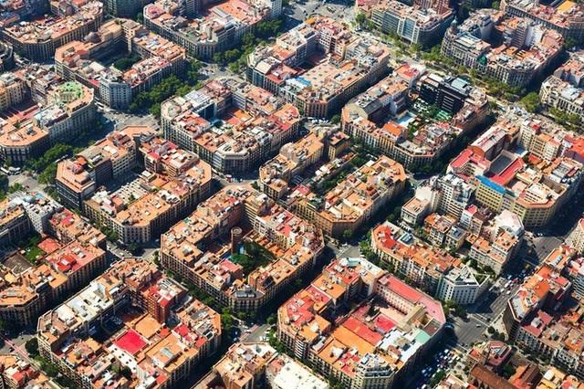 Ấn tượng với quy hoạch thành phố độc đáo nhìn từ trên cao - 1