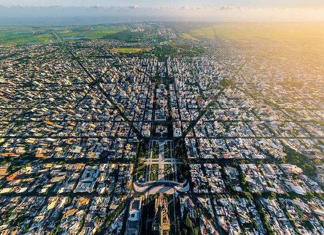 Ấn tượng với quy hoạch thành phố độc đáo nhìn từ trên cao - 2