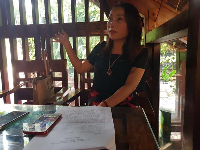 Vụ nữ giám đốc tố liên tục bị truy sát: Công an thu giữ 4 viên đạn - 2