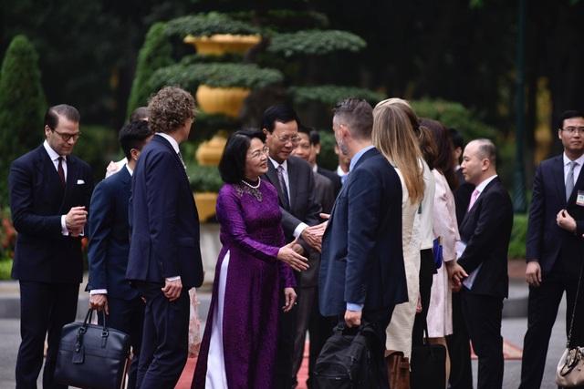 Phó Chủ tịch nước Đặng Thị Ngọc Thịnh chủ trì lễ đón Công chúa Thụy Điển - 2