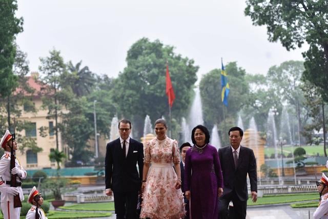 Phó Chủ tịch nước Đặng Thị Ngọc Thịnh chủ trì lễ đón Công chúa Thụy Điển - 3