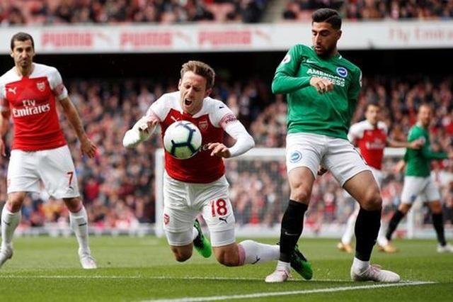 Nhìn lại trận hòa cay đắng của Arsenal trước Brighton - 3