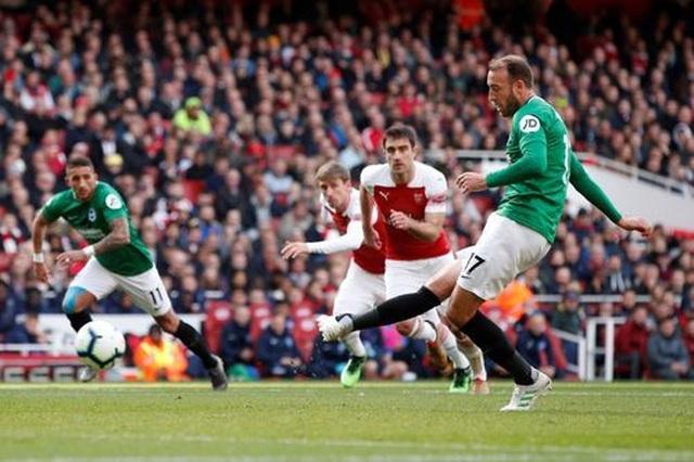 Nhìn lại trận hòa cay đắng của Arsenal trước Brighton - 11